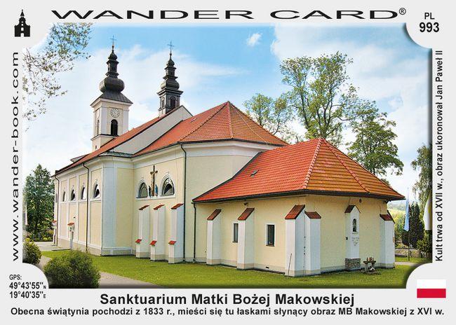 Sanktuarium Matki Bożej Opiekunki i Królowej Rodzin w Makowie Podhalańskim