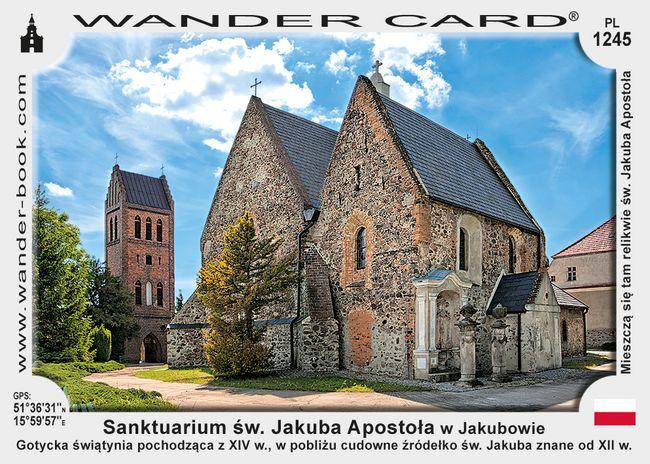 Sanktuarium św. Jakuba Apostoła w Jakubowie