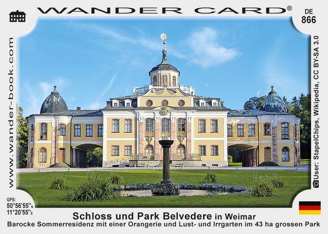 Schloss und Park Belvedere in Weimar