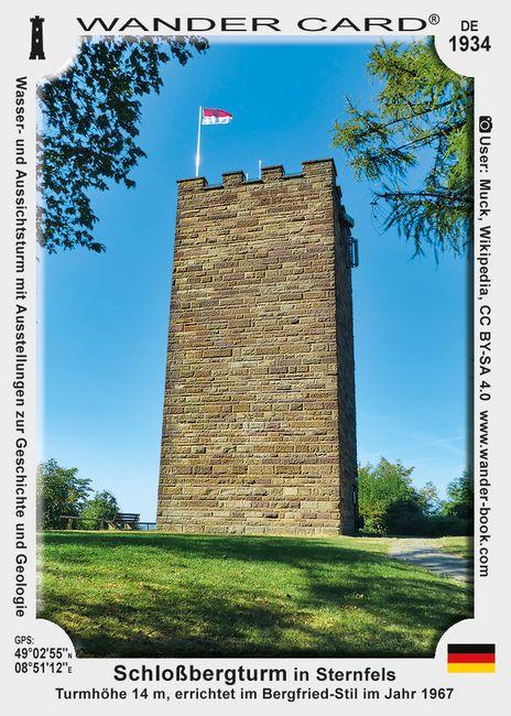 Schloßbergturm in Sternfels