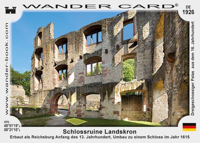 Schlossruine Landskron