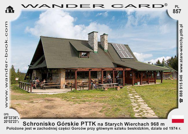 Schronisko Górskie PTTK na Starych Wierchach