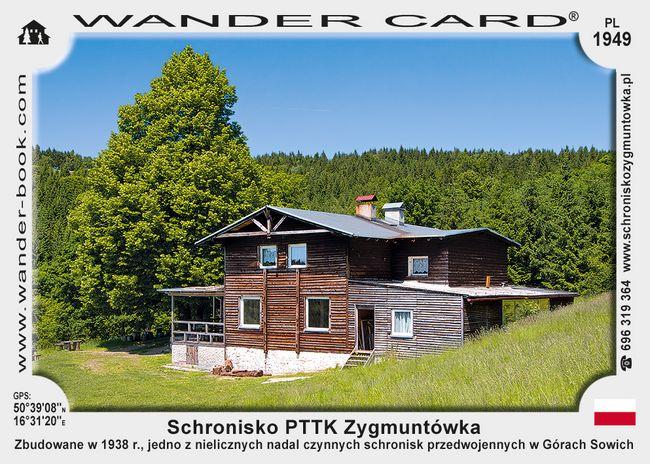 Schronisko PTTK Zygmuntówka