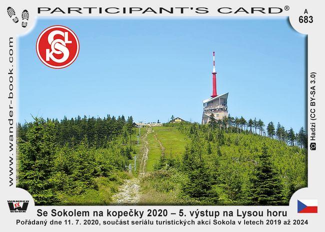 Se Sokolem na kopečky 2020 – 5. výstup na Lysou horu