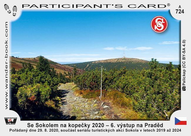 Se Sokolem na kopečky 2020 – 6. výstup na Praděd