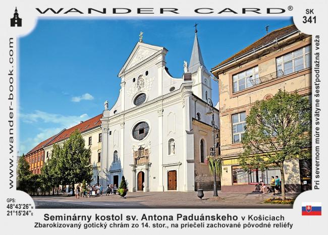 Seminárny kostol sv. Antona Paduánskeho v Košiciach