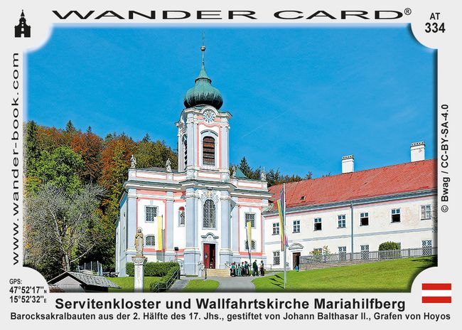 Servitenkloster und Wallfahrtskirche Mariahilfberg