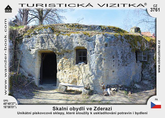 Skalní obydlí ve Zderazi