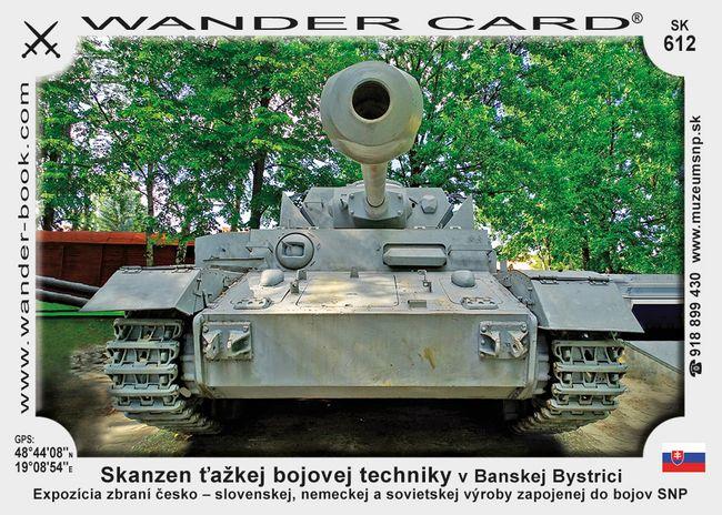 Skanzen ťažkej bojovej techniky v Banskej Bystrici