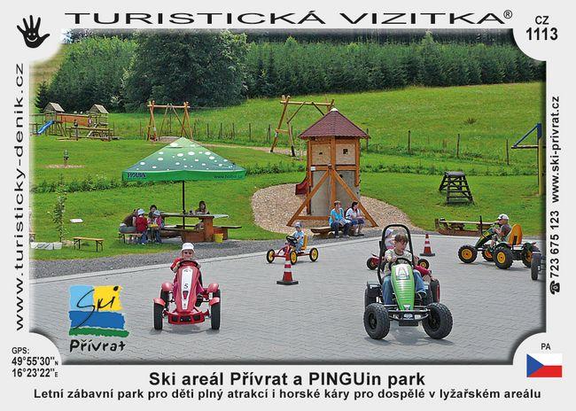 Ski areál Přívrat, PINGUin park