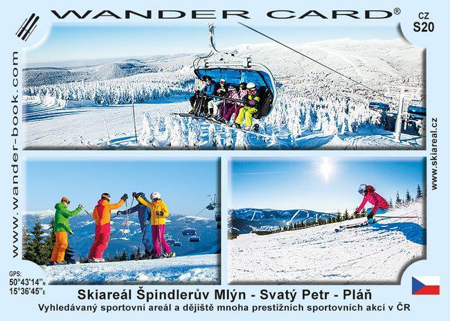 Skiareál Špindlerův Mlýn - Svatý Petr - Pláň
