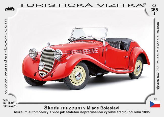 Škoda muz. v Mladé Boleslavi