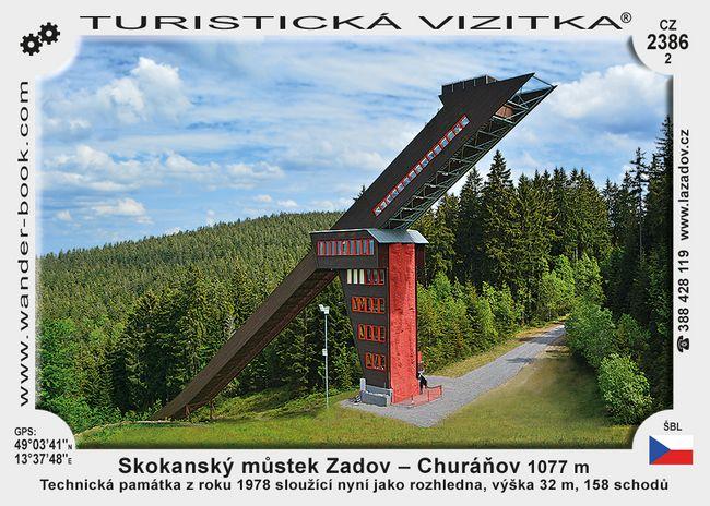 Skok. můstek Zadov - Churáňov