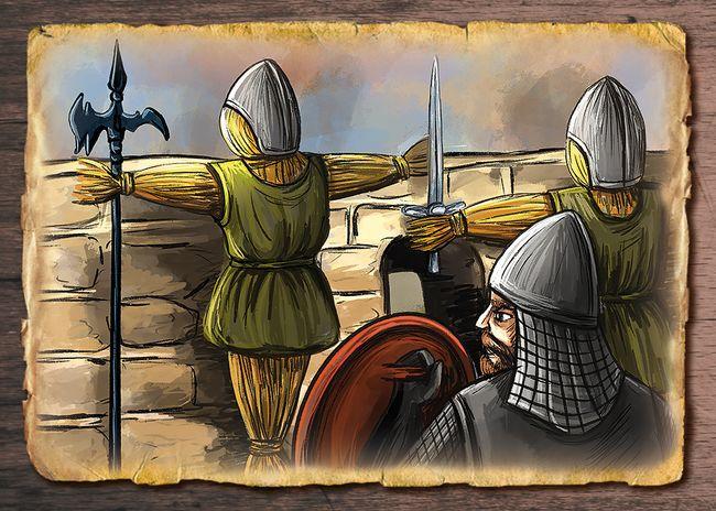 Slamení strážci Šomošského hradu