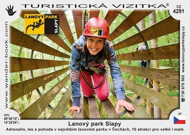 Lanový park Slapy