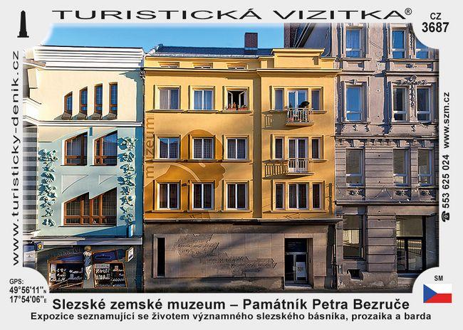 Slezské zemské muzeum - Památník P. Bezruče