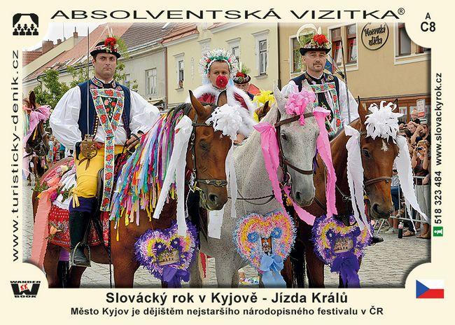 Slovácký rok v Kyjově - Jízda Králů