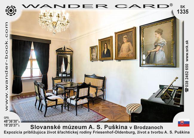 Slovanské múzeum A. S. Puškina v Brodzanoch