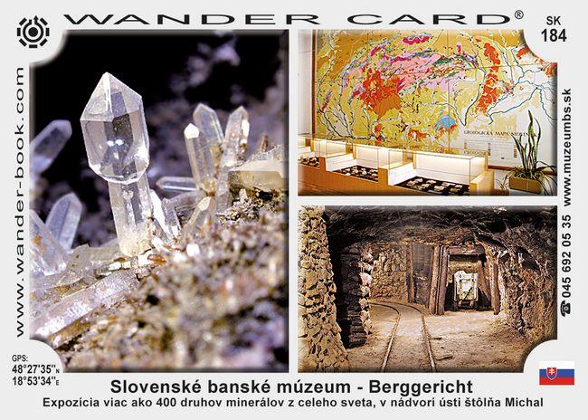 Slovenské banské múzeum – Berggericht