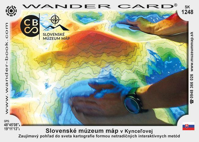 Slovenské múzeum máp v Kynceľovej