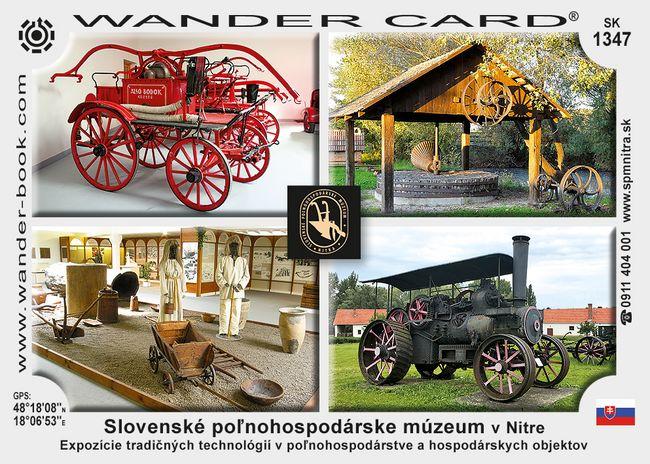 Slovenské poľnohospodárske múzeum v Nitre