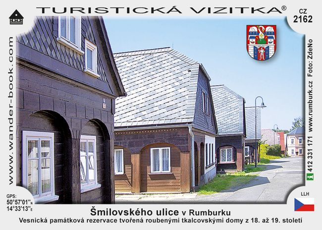 Šmilovského ulice v Rumburku