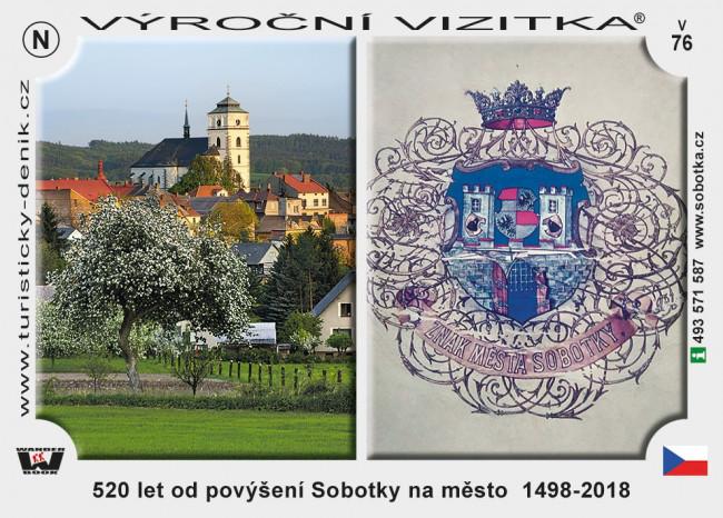 Sobotka 520 let