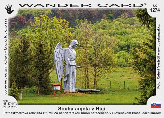 Socha anjela v Háji