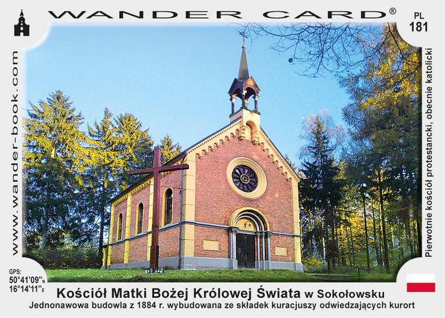 Sokołowsko kościół MB Królowej Świata