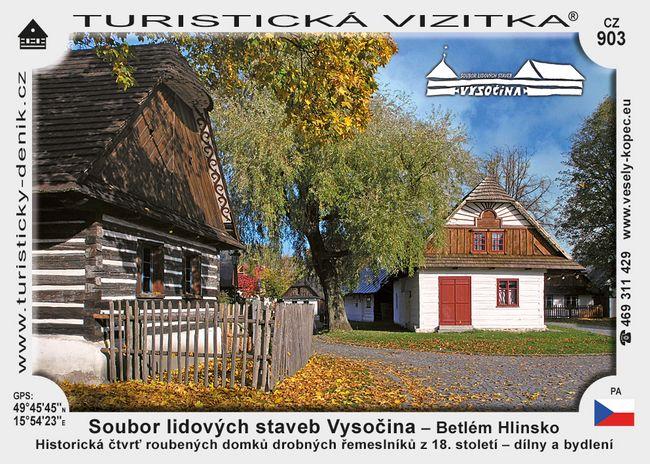 Muzeum v přírodě Vysočina – Betlém Hlinsko