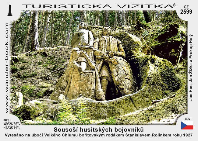 Sousoší husitských bojovníků