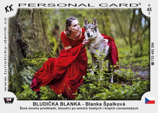 Blanka Špalková – BLUDIČKA BLANKA