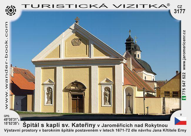 Špitál s kaplí sv. Kat. v Jaroměř. nad Rok.