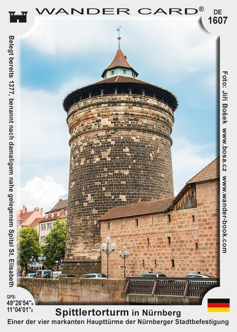 Spittlertorturm in Nürnberg