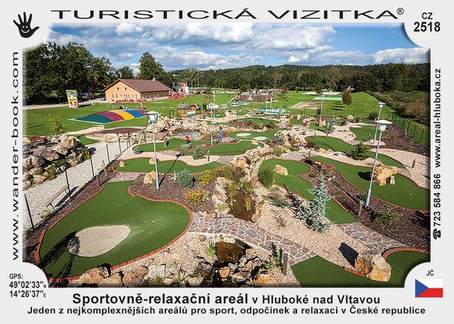 Sportovně - relax. areál v Hluboké n. V.