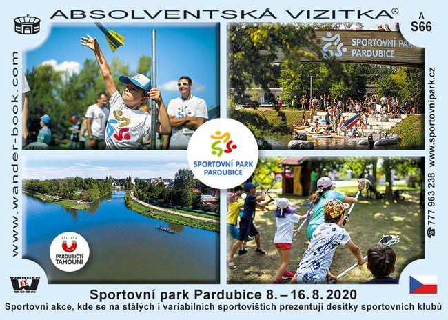 Sportovní park Pardubice 8.–16. 8. 2020