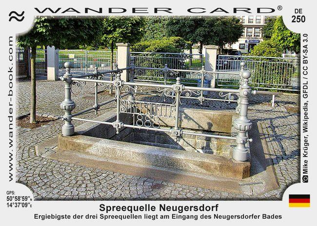 Spreequelle Neugersdorf