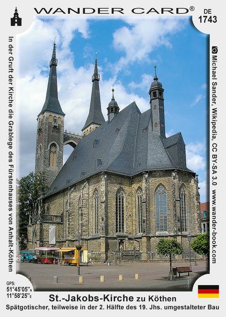 St.-Jakobs-Kirche zu Köthen