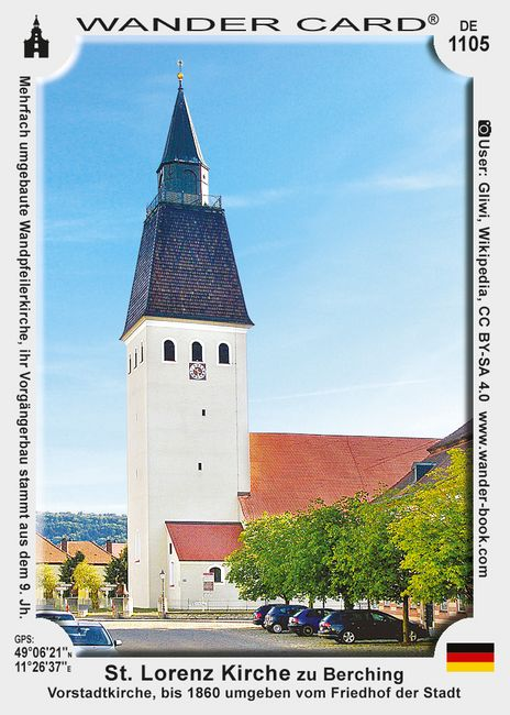 St. Lorenz Kirche zu Berching