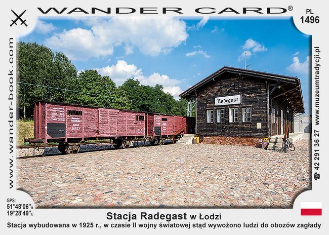 Stacja Radegast w Łodzi