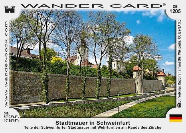 Stadtmauer in Schweinfurt