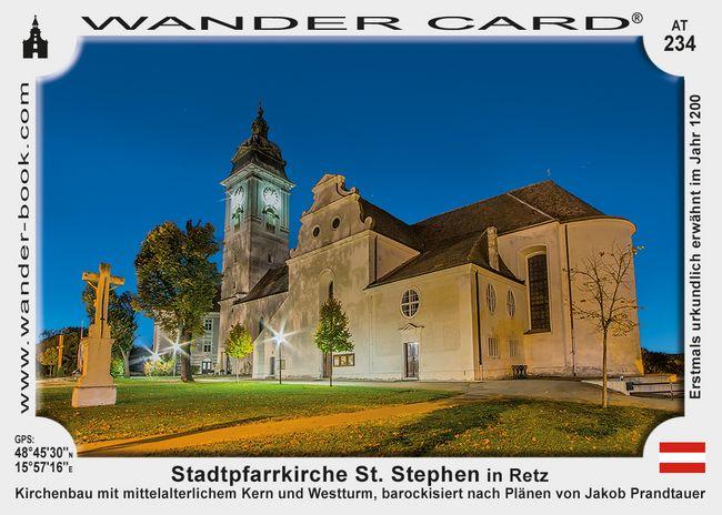 Stadtpfarrkirche St. Stephen in Retz