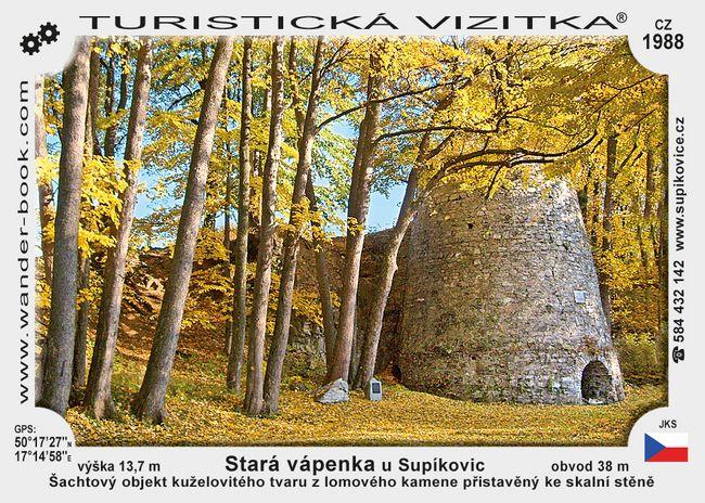 Stará vápenka u Supíkovic