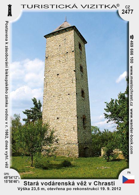 Stará vodárenská věž v Chrasti