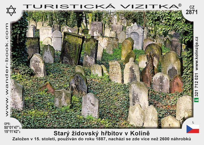 Starý židovský hřbitov v Kolíně