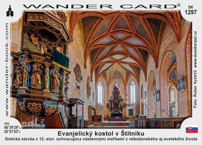 Evanjelický kostol v Štítniku