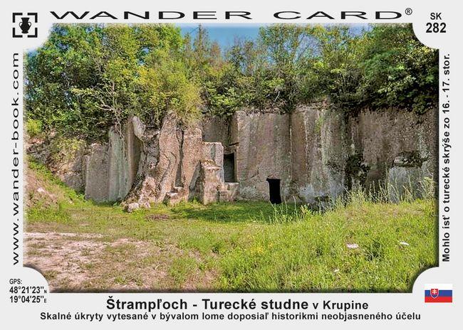 Štrampľoch - Turecké studne v Krupine