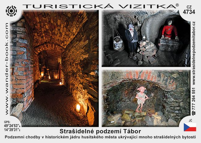 Strašidelné podzemí Tábor