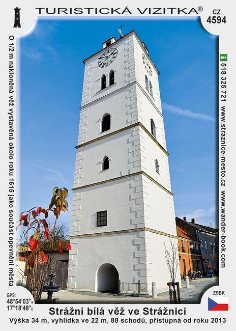 Strážnice Bílá věž