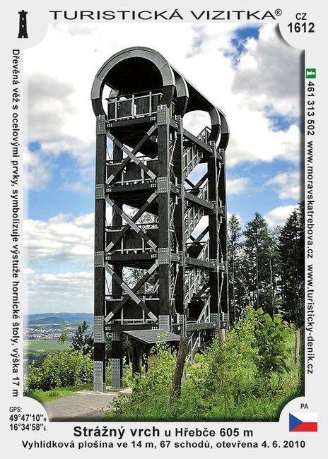 Strážný vrch u Hřebče